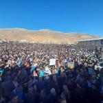 زلزله مردم دیشموک به جنس فیروزه