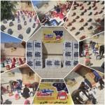 به همت گروه جهادی شهید طلاوری کهگیلویه:۷۰ بسته لوازم التحریر بین دانش آموزان کم برخوردار شهرستان کهگیلویه توزیع شد