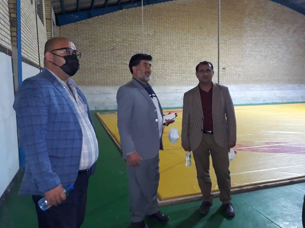 بازدید رئیس هیئت کشتی استان کهگیلویه و بویراحمد بهمراه رئیس اداره ورزش و جوانان شهرستان کهگیلویه از خانه کشتی دهدشت+مصوبات